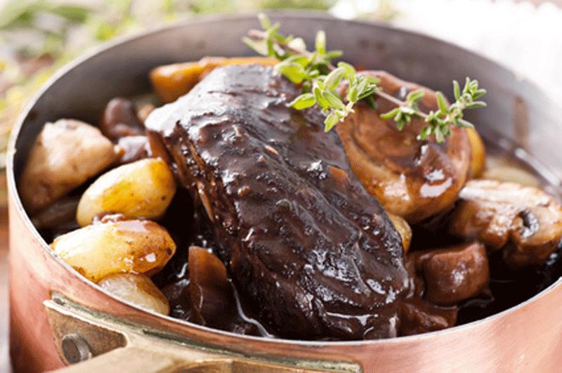 recette du boeuf Bourguignon
