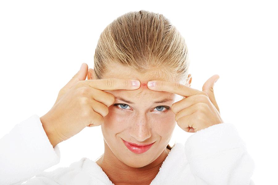 Découvrez ce que les boutons de votre visage révèlent sur votre santé