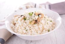 Recette du risotto aux cèpes