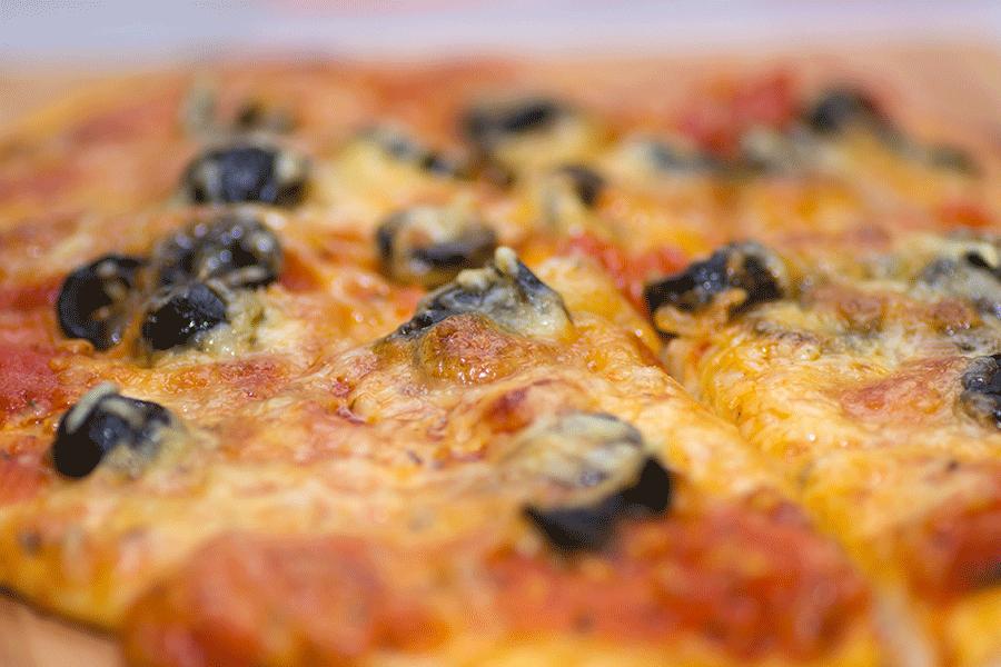 Pizza automnale