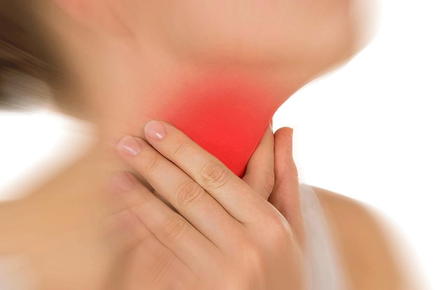 Remèdes contre le un mal de gorge
