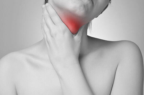 soigner une infection de la gorge