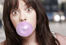 enlever du chewing-gum