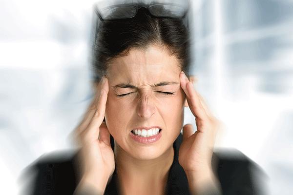 maux de tête persistants