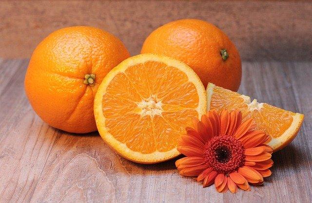 écorces d'orange