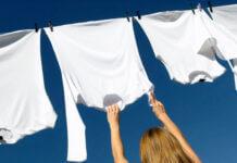 retirer une tache jaune sur un vêtement blanc
