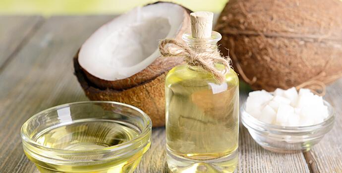 utiliser l'huile de coco