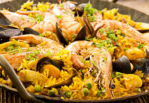 recette de la Paella